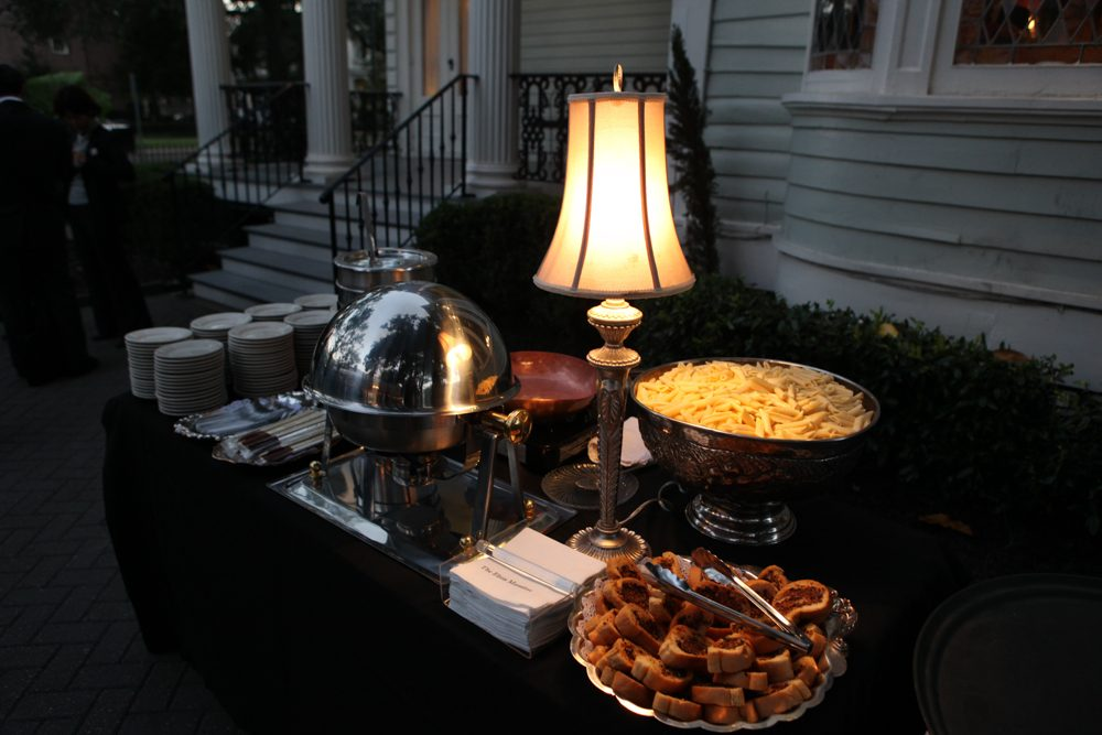 Catering at Elms Mansion
